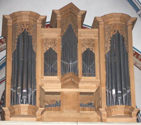Orgel Bücken